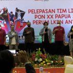 LKBN Antara melepaskan tim peliputan PON XX Papua –