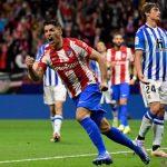 Dua gol Luis Suarez selamatkan Atletico dari kekalahan lawan Sociedad –
